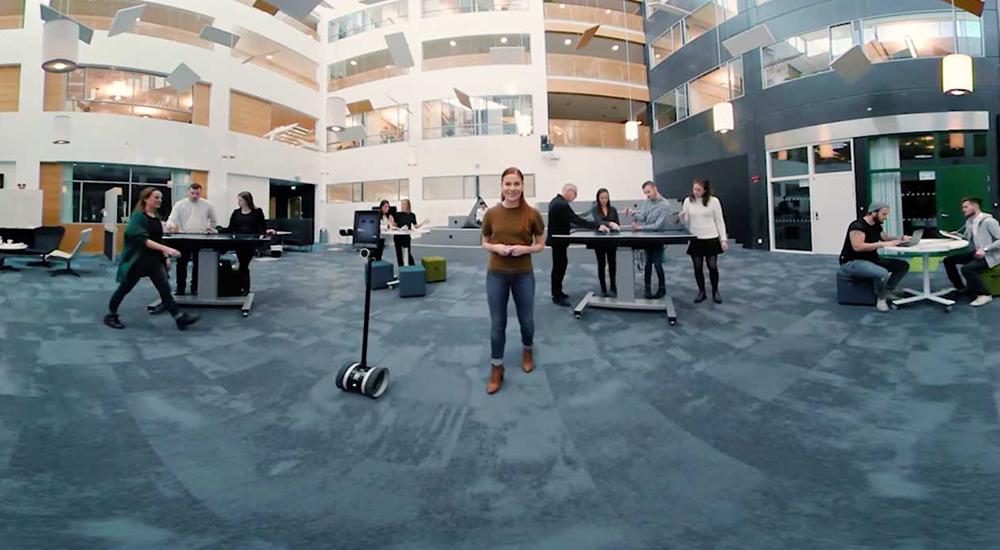 Högskolan i Halmstad –Framtidens klassrum