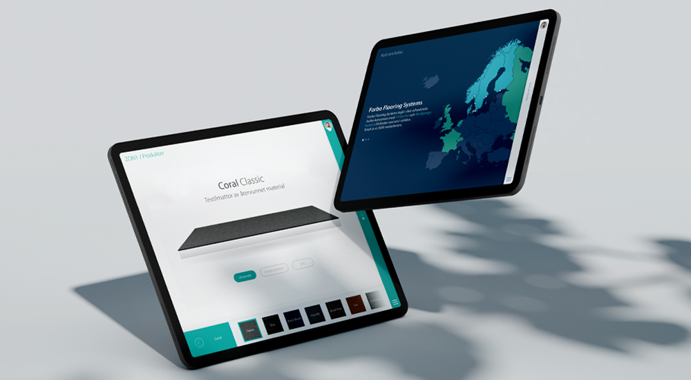 Forbo – Digitalt säljstöd